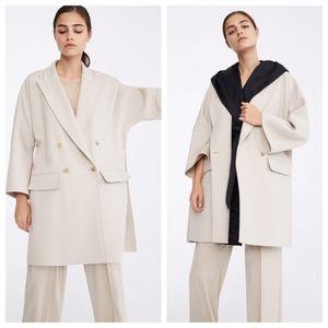 Max Mara Virgin Wool Oversized Trenchcoat